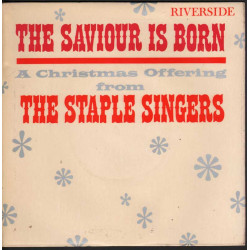 "The Staple Singers Vinile EP 7"" The Saviour Is Born! A Christmas Offering Nuovo"