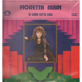 Fioretta Mari Lp Vinile Io Sono Fatta Cosi / Cinevox CAB 2007 Cabaret
