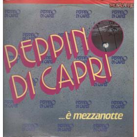 Peppino Di Capri Lp 33giri E' Mezzanotte Nuovo Sigillato 021028