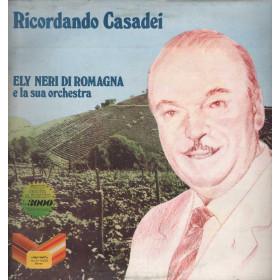 Ely Neri di Romagna Lp 33giri Ricordando Casadei Nuovo