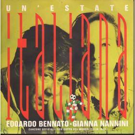 E Bennato & - g Nannini Vinile 45 giri Un'Estate Italiana  Nuovo 5012980553174