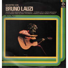 Bruno Lauzi  Lp 33giri Incontro Con Bruno Lauzi Nuovo 003013