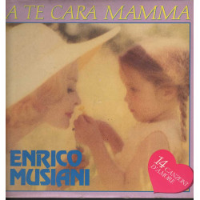 Enrico Musiani Lp 33giri A Te Cara Mamma Nuovo 004012