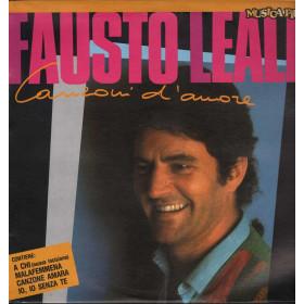 Fausto Leali  Lp 33giri Canzoni D'Amore Nuovo 021127