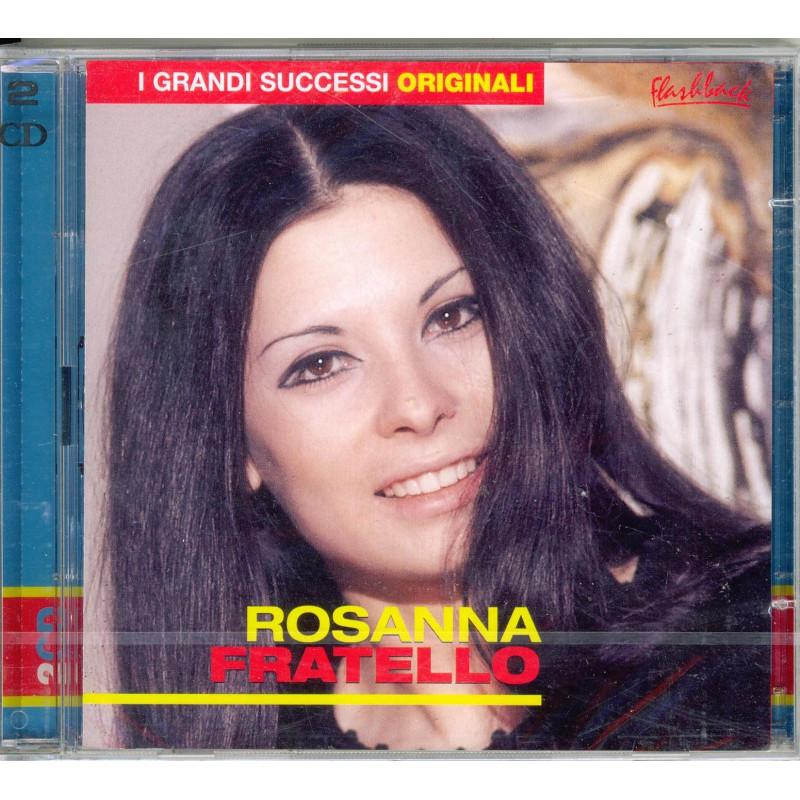 Rosanna Fratello CD I Grandi Successi Originali Flashback Sig 0743218198526