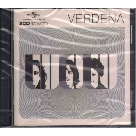 Verdena 2 CD WOW / Black Universal Sigillato 0602527613536