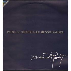 Massimo Ranieri Lp Passa Lu Tiempo E Lu Munno S'avota / CGD 20205