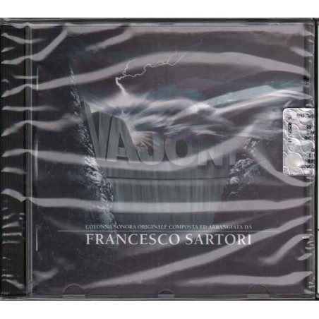 Francesco Sartori CD Vajont OST Soundtrack / Sugar Music Sigillato 3259130037227