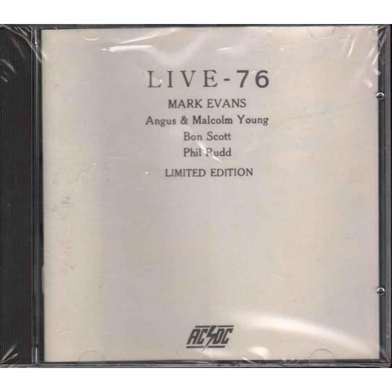 AC/DC CD Live 76 Limited Edition Bootleg Nuovo Sigillato Raro 14555122