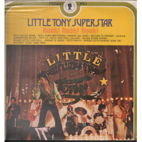 Little Tony Lp 33giri Superstar Rock! Rock! Rock! Nuovo Sigillato 0072028