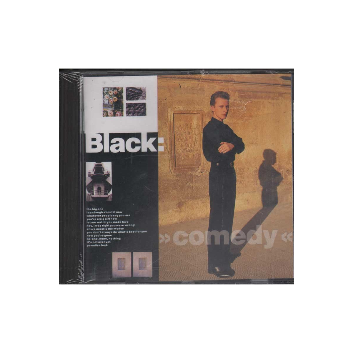 Black CD Comedy Nuovo Sigillato 0082839522229