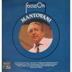 Mantovani 2 Lp Vinile  Focus On Sleeve Gatefold Copertina Apribile Decca Nuovo