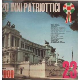 Banda Militare diretta M.o M.Ricci Lp 33giri 20 Inni Patriottici Nuovo