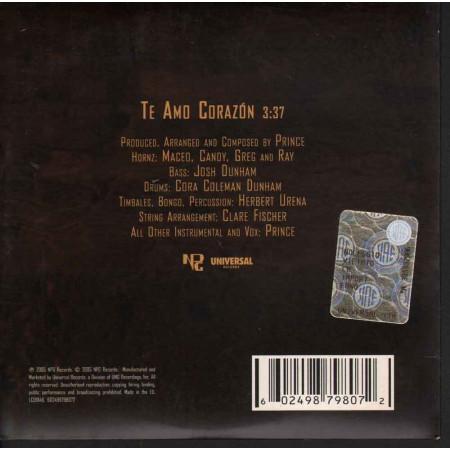 Prince CD's SINGOLO Te Amo Corazon Nuovo 0602498798072