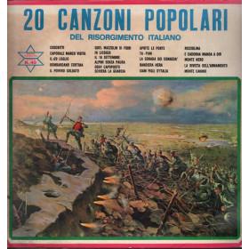 Orchestra diretta Mario Battaini Lp 33giri 20 Canzoni Popolari Nuovo