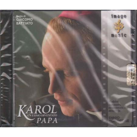 Ennio Morricone CD Karol Un Uomo Diventato Papa OST Image ERE 0162902 Sigillato