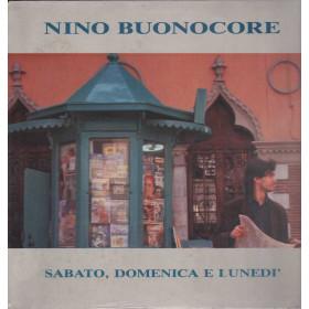Nino Buonocore Lp 33giri Sabato, Domenica e Lunedi Nuovo Sigillato