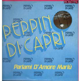 Peppino Di Capri Lp Vinile Parlami D'Amore Mariu / CBS EMB 21098 Nuovo