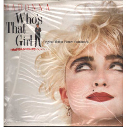 Madonna Lp 33giri Who's That Girl OST- Nuovo Sigillato 0075992561112