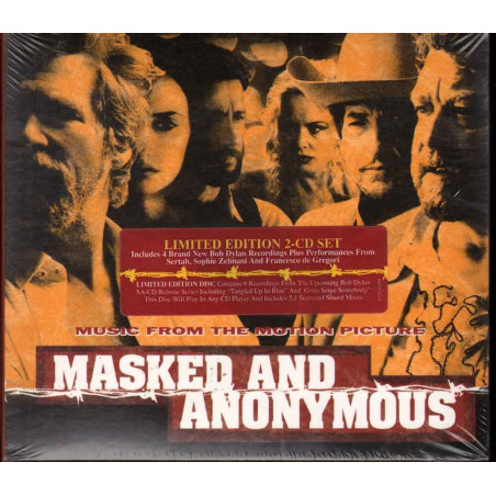 AA.VV. CD Masked And Anonymous Limited Ed OST Soundtrack Sigillato 5099751255666