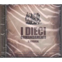 AAVV CD I Dieci Comandamenti - Il Musical OST Soundtrack Sigillato 5099751113225