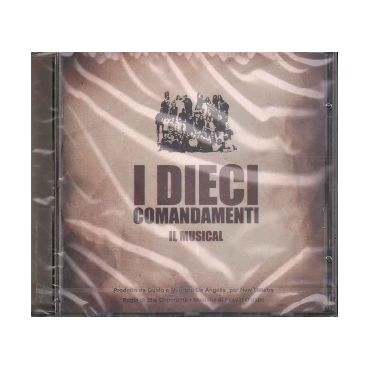 AA.VV. CD I Dieci Comandamenti - Il Musical OST Soundtrack Sigillato 50997511132