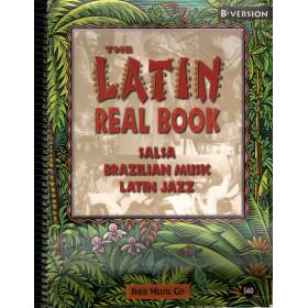 The Latin Real Book - Rilegatura a Spirale Spartito Hal Leonard Corp 9781883217051