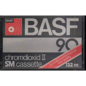 BASF Chromdioxid II SM Cassette 90 - 132m / Cromo Diossido