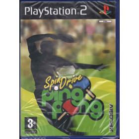 Spindrive Ping Pong Videogioco Playstation 2 PS2 Sigillato 5017783018585
