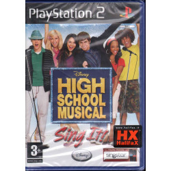 High School Musical: Sing It! Playstation 2 PS2 Sigillato 8717418135089