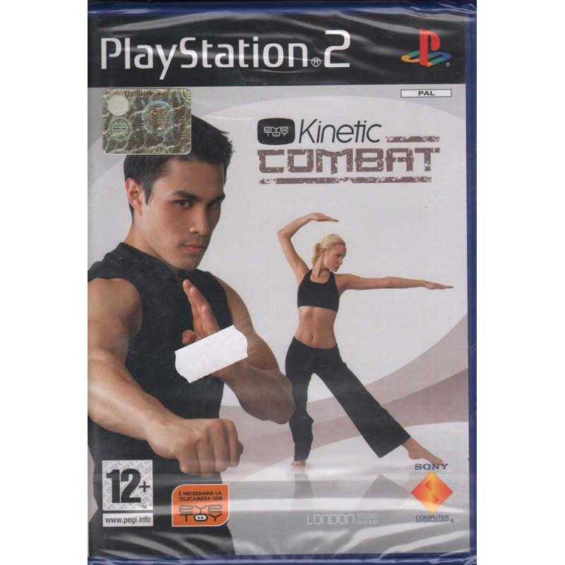 Eyetoy kinetic Combat Playstation 2 PS2 Sigillato 0711719648673
