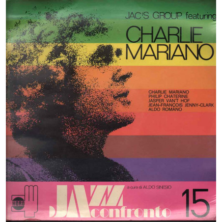 Jac's Group Featuring Charlie Mariano Lp 33giri Jazz A Confronto 15 Sigillato