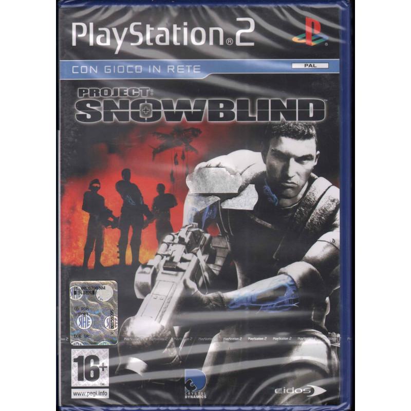 Project Snowblind Videogioco Playstation 2 PS2 Sigillato 5032921021005