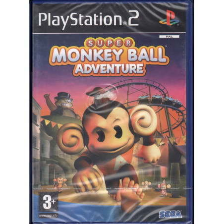 Super Monkey Ball Adventure Playstation 2 PS2 Sigillato 5060004767847