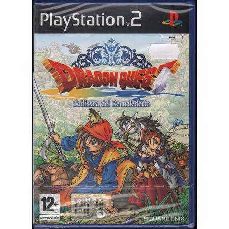 Dragon Quest: L'Odissea Del Re Playstation 2 PS2 Sigillato 5060121820067