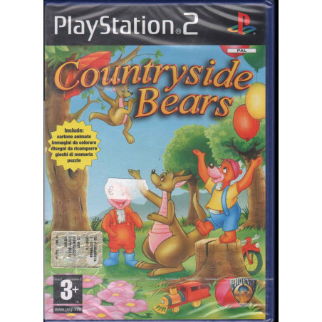 Countryside Bears Videogioco Playstation 2 PS2 Sigillato 8717249594260
