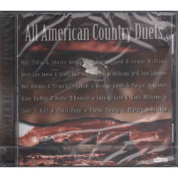 AA.VV CD All American Country Duets / Spectrum ‎552561-2 Sigillato 0731455256123