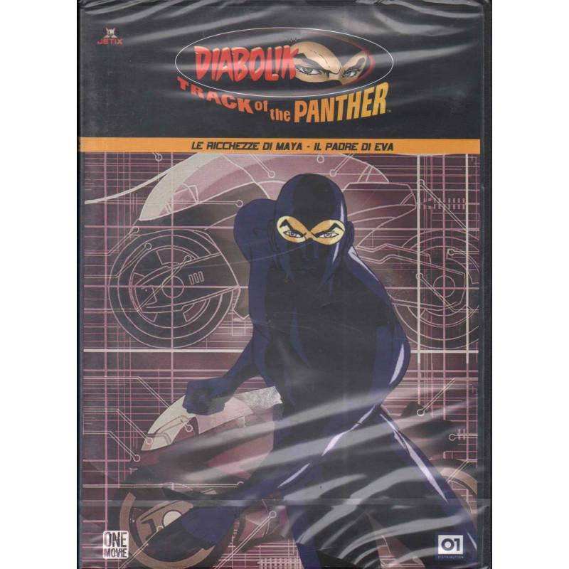 Diabolik Track of the Panther Vol. 9 DVD Le ricchezze di Maya Sig 8032807007076