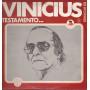 Vinicius De Moraes Lp 33giri Testamento Nuovo RB 328
