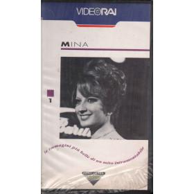 Mina VHS Le Immagini Piu' Belle di un Mito Intramontabile Sigillata 8003927109544