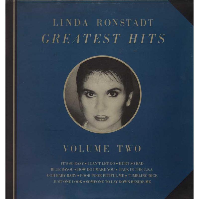 Linda Ronstadt Lp 33giri Greatest Hits Volume Two Nuovo
