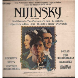 AA.VV. Lp 33giri Nijinsky - A True Story Motion Picture Soundtrack Nuovo CBS ‎/ CBS 73885