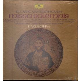 Ludwig van Beethoven Cof 2 Lp 33giri Missa Solemnis Sigillato Deutsche 2707 080