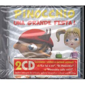 Pinocchio 2 CD Una Grande Festa! / EMI OST Soundtrack Sigillato 0094638287124