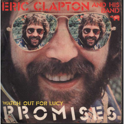 "Eric Clapton And His Band Vinile 7"" 45giri Promises Nuovo"