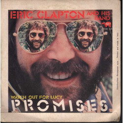 """Eric Clapton And His Band Vinile 7"""" 45giri Promises  Nuovo"""