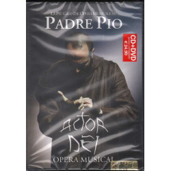 Costa Giulio CD DVD Padre Pio - Actor Dei Opera Musical Sigillato 0802785119867
