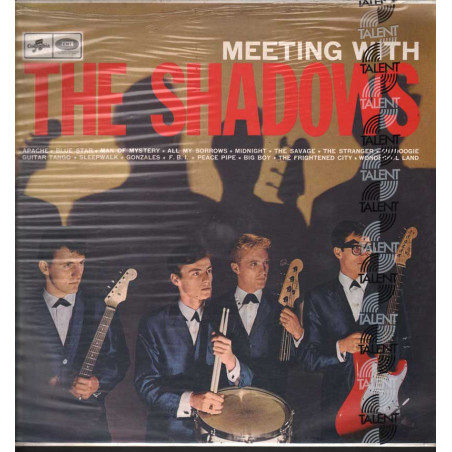 The Shadows Lp Vinile Meeting With The Shadows / Emi Columbia Sigillato