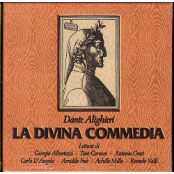 AA.VV. Cof 12 CD La Divina Commedia (Letta / Reading) Sigillato 5051011320620