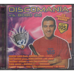 AA.VV. 2 CD Discomania Vs. Bobo 32 Sigillato 8019991220535